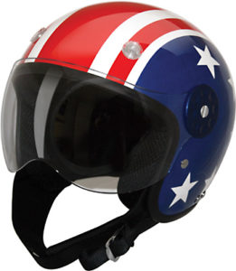 HCI-15-710 Open Face Helmet Stars and Stripes